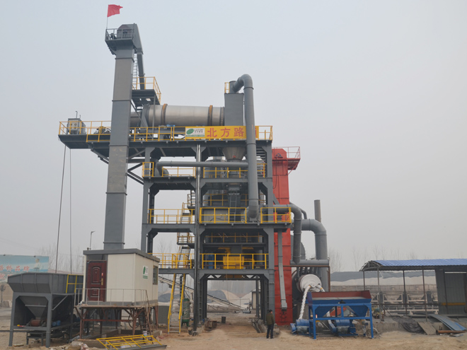 LZS沥青热再生设备-高唐市政